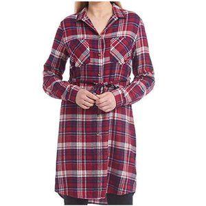 Jachs Ladies' Girlfriend Flannel Shirt Dress